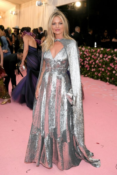 NEW YORK, NEW YORK - MAY 06: Kate Moss attends The 2019 Met Gala Celebrating Camp: Notes on Fashion at Metropolitan Museum of Art on May 06, 2019 in New York City. (Photo by Neilson Barnard/Getty Images)