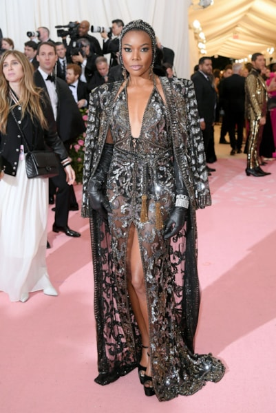 NEW YORK, NEW YORK - MAY 06: Gabrielle Union attends The 2019 Met Gala Celebrating Camp: Notes on Fashion at Metropolitan Museum of Art on May 06, 2019 in New York City. (Photo by Neilson Barnard/Getty Images)