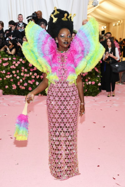 NEW YORK, NEW YORK - MAY 06: Lupita Nyong'o attends The 2019 Met Gala Celebrating Camp: Notes on Fashion at Metropolitan Museum of Art on May 06, 2019 in New York City. (Photo by Dimitrios Kambouris/Getty Images for The Met Museum/Vogue)