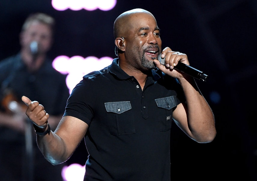 ARLINGTON, TX - APRIL 17: Recording artist Darius Rucker performs onstage during ACM Presents: Superstar Duets at Globe Life Park in Arlington on April 17, 2015 in Arlington, Texas.  (Photo by Ethan Miller/Getty Images for dcp)