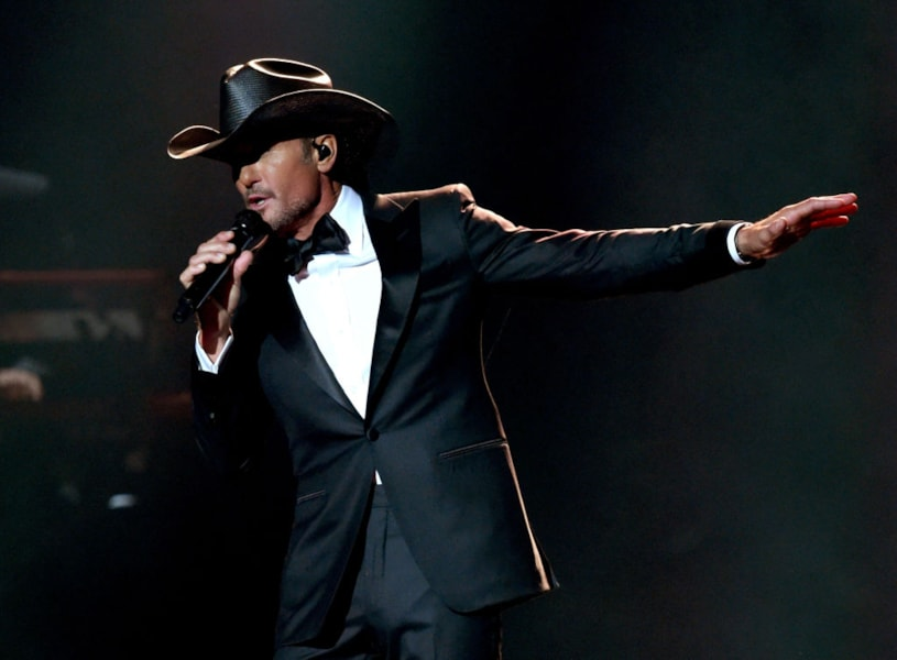 Tim McGraw has been in 10 feature films.
