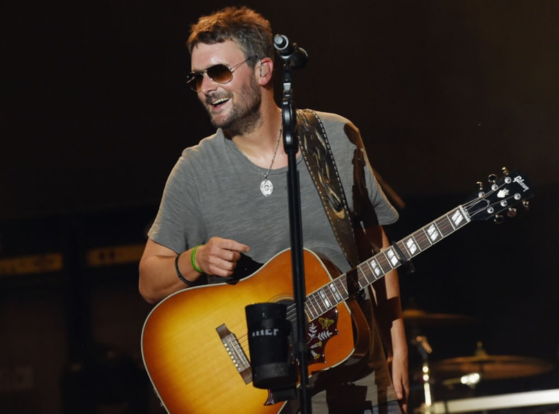 CULLMAN, AL - JUNE 02:  Eric Church performs during Pepsi's Rock The South Festival - Day 2 in Heritage Park on June 2, 2018 in Cullman, Alabama.  (Photo by Rick Diamond/Getty Images for Rock the South Festival)