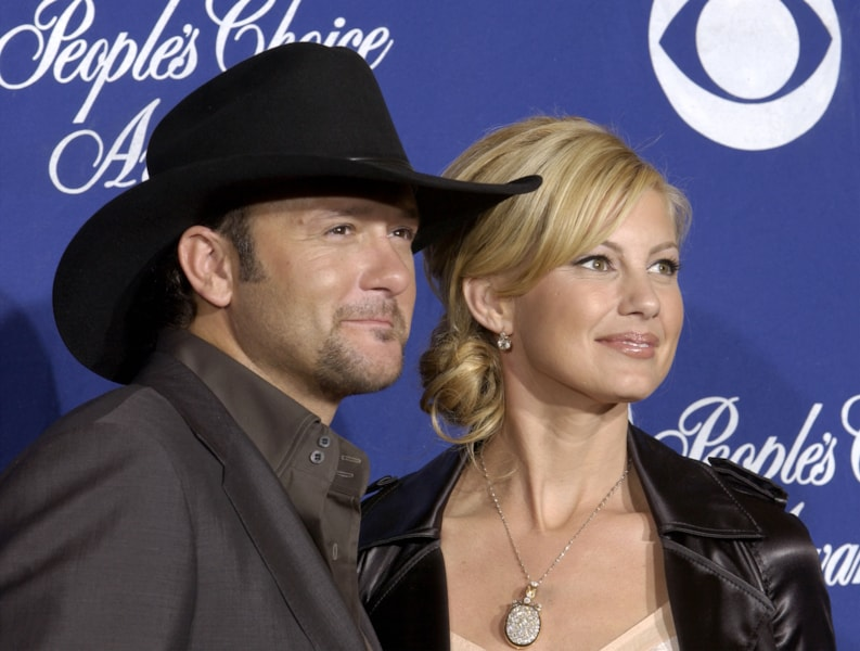 Tim McGraw's first name is Samuel