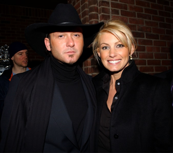 He married Faith Hill in 1996
