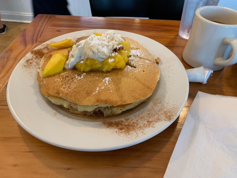 """This was the special I got this past weekend.  Jamie and Cersei's """"Keeping It In The Fam"""" Special Pancakes."""