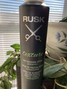 Rusk Dry Finishing Spray