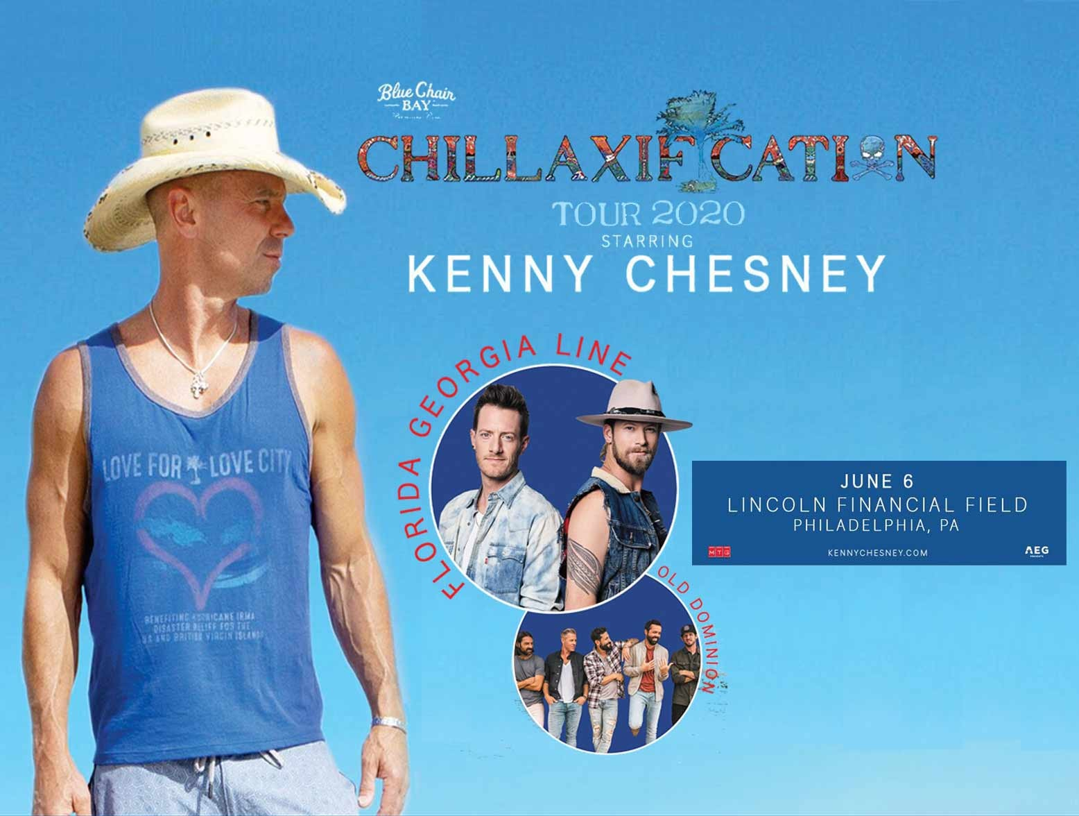 kenny chesney concerts 2020