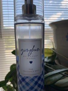 Bath and Body Works Gingham Spray