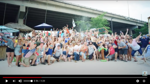 Philly tailgaters at Chesney Show